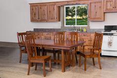 Great Mondovi Dining Set   Amish Furniture   Table   Chairs   Hardwood   Custom  Furniture
