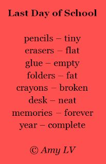 This poem about the last day of school is from The Poem Farm, Amy Ludwig VanDerwater School Quotes, Teacher Quotes, Teacher Humor, Teacher Appreciation, Teacher Gifts, Funny Teacher Poems, End Of School Year, School Fun, School Stuff