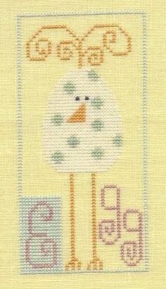 Garden Grumbles and Cross Stitch Fumbles: From the Cross Stitch Archives - Easter Cross Stitch Freebies, Cross Stitch Charts, Counted Cross Stitch Patterns, Cross Stitch Designs, Cross Stitch Embroidery, Cross Stitch Beginner, Easter Cross, Needle And Thread, Cross Stitching