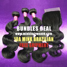 shipping Brazilian hair Bundles Deal body wave GRADE Full ends, very soft, long lasting RAW Hair MINK WAVY from one donor hair Mink Brazilian Hair, Brazilian Hair Bundles, Brazilian Hair Weave, Hair Bundle Deals, Body Wave Hair, Malaysian Hair, Peruvian Hair, Remy Hair, Weave Hairstyles
