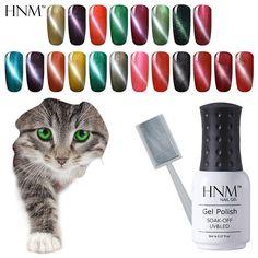HNM 8ml Cat's Eye Gel Polish Magnet UV Gel Nail Polish Gel Lak Long Lasting Gel Varnishes Vernis Semi Permanent Gelpolish