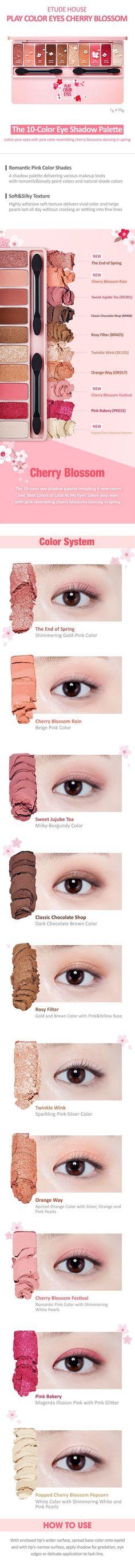 Play Color Eyes Cherry Blossom | ETUDE HOUSE