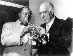 Louis Armstrong & Niels Bohr