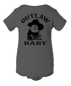 Willie  Outlaw Baby by GraphicsUnlimitedLLC on Etsy, $10.00