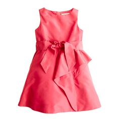 Girls' silk taffeta Tilly dress