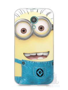 Capa Moto G2 Minions #7 - SmartCases - Acessórios para celulares e tablets :)