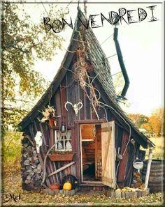 Maison de sorcière ^^