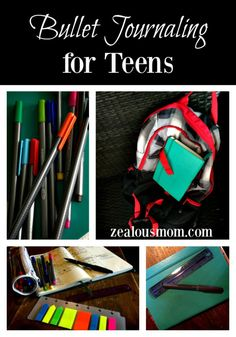 Bullet Journaling for Teens. Info on why and how to use this system. #BulletJournal #BuJo