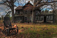 Um Pedacinho de Mim: Casa mal assombrada...