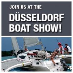 Come and see the European launch of the brand new CRUZE 970 at the Dusseldorf Boat Show, January 18th - 26th, 2014! Read more at: ⛵️ sail.corsairmarine.com ⚓️ #corsair #corsairmarine #sail #sailing #trimaran #yachts #ocean #nautical #cruze970 #euroyachts #eurosailing #dusseldorf #boatshow