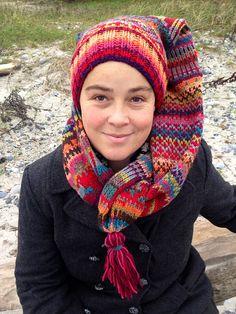 Ravelry: Julet vinterhue pattern by Charlotte Kaae