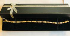 two tone diamond cut bracelet 14k Bracelet, Free Items, Link Bracelets, Diamond Cuts, Jewels, Best Deals, Gold, Ebay, Jewerly