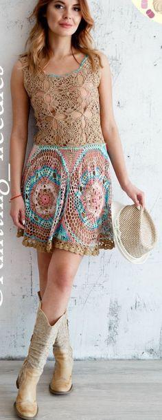 Dream Crochet Dress