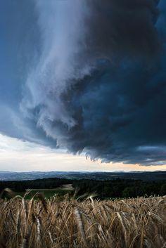 Under the shelf cloud By Florentcourty