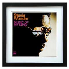 Stevie Wonder | Music Of My Mind Album | ArtRockStore