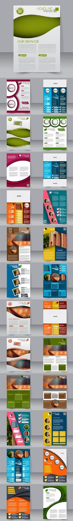 Flyer Samples Templates Flyer Template Of Back To School And Education Objects And Elements .