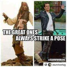 Pirates of the Caribbean / The Walking Dead