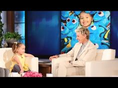 After ellen saw brielles video on ellentube she invited her to lesson this is the cutest thing i have ever seen this little girl is so smart and so sweet i actually started to cry listening to her talk to ellen urtaz Image collections