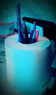 DIY pen holder!!!