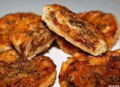 Mini quiches met (pittige) kipvulling
