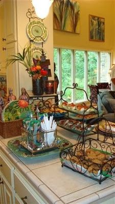 Welcome to the third edition of Saturdays with Southern Living at HOME! This week let's look at components needed to set up a beautiful buffet! This picture was taken at a gathering in a friend's home. Isn't it inviting? Does it make you wish you were there? So what makes this buffet setup so beautiful Continue Reading