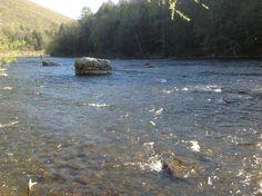 Housatonic River, ready for fishing, rafting, canoeing.