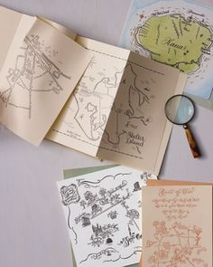 Showcase your locale by enlisting a calligrapher who specializes in mapping