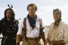 THE MUMMY RETURNS, Oded Fehr, Brendan Fraser, John Hannah, 2001. ©Universal