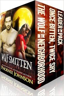 The Naughty Pages of The Phoenix: The Wolf Smitten Trilogy is now complete!