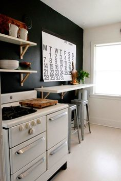 Wandfarbe Schwarz: 59 Beispiele für gelungene Innendesigns - Fresh Ideen für das Interieur, Dekoration und Landschaft