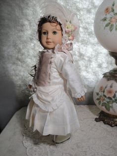 Victorian Blush for 18 American Girl type dolls by A2ZDollFashions