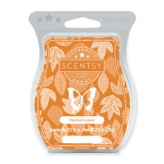 PAINTED LEAVES - Blue spruce, red maple and golden woods weave a lush tapestry of forested notes ripe for exploration. Scentsy Uk, Scentsy Catalog, Scentsy Australia, Scented Wax Warmer, Blue Spruce, Cube Design, Wax Warmers, Painted Leaves, Paraffin Wax