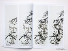 """Chinese Painting Book """"Learn to Paint Orchid from Master Wu Changshuo Qi Baishi"""" Ink In Water, Painted Books, Chinese Painting, Learn To Paint, Orchids, Colours, Watercolor, Learning, Seals"""