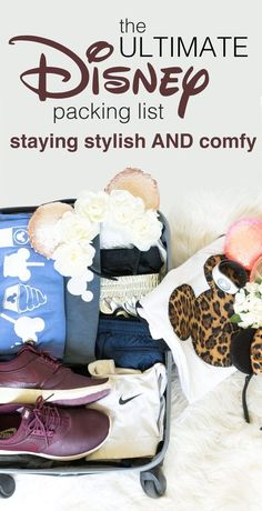Ultimate Disney Packing Guide, how to pack for disney, packing, pack, disney, disney world, walt disney world, travel tips, traveling, what to wear, how to dress, disneyland, florida, cute, mickey, mickey mouse, mickey ears, mouse ears, disney, diy, how to pack, packing tips: