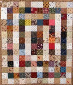 Quilting adventures: Grannie's Scrap Box quilt