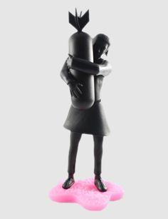 Banksy 6-inch DIY vinyl figure: Bomb Hugger