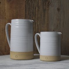 Simple and tactile, this pitcher is a pleasure to use for any gathering. It takes on the characteristics we strive to have - humble, honest and useful. petite: