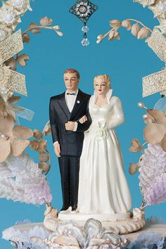 Vintage 1950's Wedding Grable and James by GuldenBrownGowns