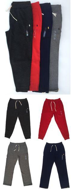 Men/'s POLO Ralph Lauren SWEATPANTS Fleece Lining Jogger Lounging Pants S-2XL