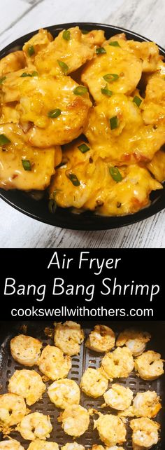 Crispy air fried shrimp tossed in a simple homemade bang bang sauce! Bang Bang Shrimp, Thai Sweet Chili Sauce, Home Meals, Air Fryer Recipes Easy, How To Cook Shrimp, Best Appetizers, A Food, Food Photography, Healthy Eating