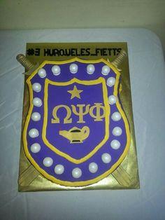 Omega Psi Phi  grooms cake