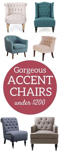 20 Neutral Accent Chairs for a Tight Budget | Neutral, Budgeting and ...