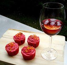 OMG spain in a cupcake...sangria cupcakes!
