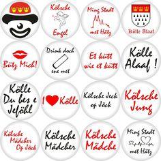 Button Kölner Karneval - Freie Motivwahl Ø 50 mm Power Rangers, Alaaf You, Tattoo Studio, Playing Cards, Germany, Trends, Poster, Design, Products