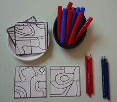 On S'inspire De L'artiste Jean Dubuffet Art Therapy Activities, Art Activities For Kids, Preschool Art, Artists For Kids, Art For Kids, Art Montessori, Coin Art, Art Brut, Collaborative Art