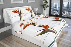 Virágos ágyneműhuzat lila - fehér tónusokban | Glamonde Bed, Furniture, Home Decor, Luxury, Decoration Home, Stream Bed, Room Decor, Home Furnishings, Beds