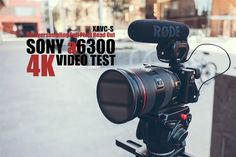 nice Sony Alpha a6300 4K Video Test