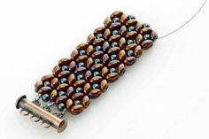 Bracelet tute - finish project for about $15. #Seed #Bead #Tutorials