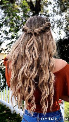 "# Frisuren Prom 20 ""Classic Dirty Blonde Clip-Ins - g) - Abs . - # Frisuren Prom 20 ""Classic Dirty Blonde Clip-Ins – 220 g – Abschlussball 20 ""Classi - Box Braids Hairstyles, Easy Hairstyles For Long Hair, Winter Hairstyles, Prom Hairstyles, Hair Updo, Easy Homecoming Hairstyles, Blonde Hairstyles, Cute Hairstyles For Summer, Curly Ponytail"