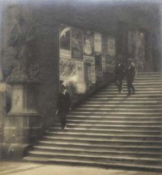 Jaromir Funke - Staircase of Old Prague, 1924